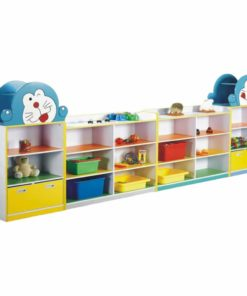 Doremon Kids Storage Shelf