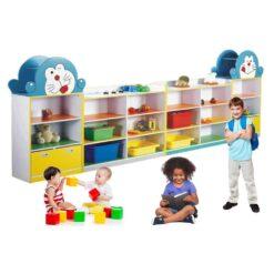 Doremon Kids Storage Shelf
