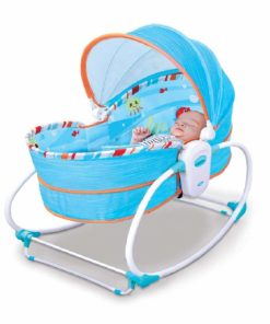 Mastela 5 in 1 Baby Bassinet Rocker