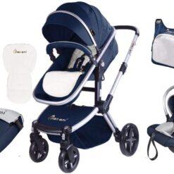 Monami Baby Stroller with Carrier & Bag set