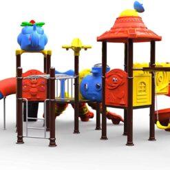 Outdoor Amusement play area cool plastic playground set