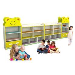 Smiley Kids Storage Shelf