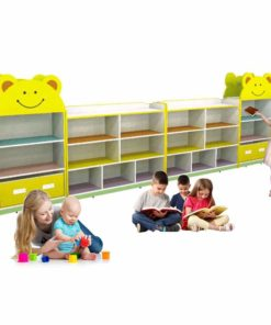 Smiley Kids Storage Shelf