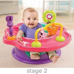 Summer Infant - 3-Stage Superseat Forest Friends Neutral Pink