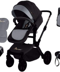 Monami Baby Stroller with Carrier & Bag