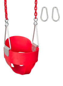 Toddler indoor & outdoor swing Red