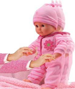 Bambolina 33Cm Baby Training Walking Doll