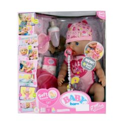 Baby Born Interactive Doll Girl Soft Touch