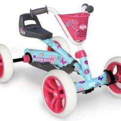 BERG Buzzy Bloom Go-kart Pink
