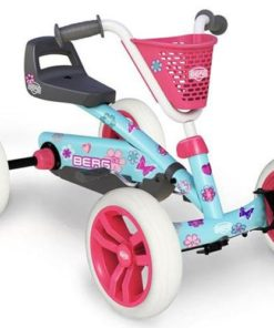 BERG Buzzy Bloom Go-kart Pink