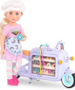 Glitter Girls Dolls by Battat – 14-inch Posable Baking Doll Maren GG51035Z