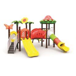 Hide N Seek Slide & Swing Outdoor Playground