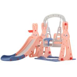 Children Plastic Slide & Swing Toys SIZE 143 X 140 X 110 CM