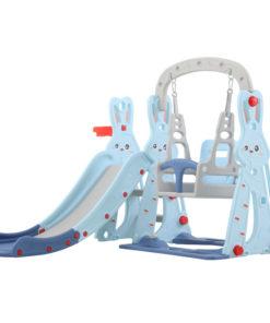 Children Plastic Slide & Swing Toys Rabbit SIZE 143 X 140 X 110 CM