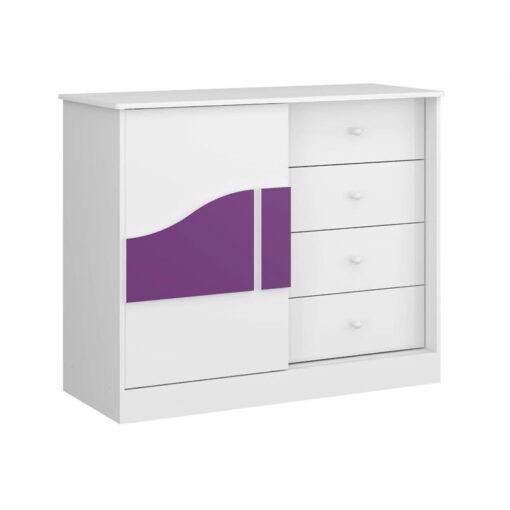 Biscuit Dresser With Sliding Door -Multimóveis Brazil BP-0077-0001