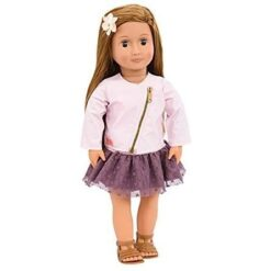 Our Generation 18 Inch Regular Doll Vienna with Long Brown Hair