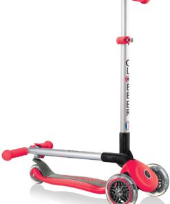 Product Description: Clobber's scooters offer the only product on the market with a patented steering lock button which helps young children learn to ride First foldable 3-wheel scooter on the market and an assisted 1 second folding mechanism specifically designed for the commuting scooter rider Glibber transforms the conventional scooter with its reliable, sleek and innovative design, and unmatched functionality Product Dimensions 58 x 28 x 79 cm; 3.1 Kilograms Item model number 430-100 Assembly Required Yes Batteries Required? No