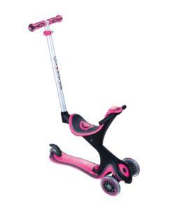 Globber Scooter Evo Comfort Play ( 5 In 1 V2 ) - Deep Pink