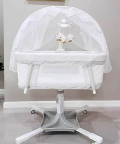 Dream on me évolur Baby Bassinet Swivel Sleeper White PL681