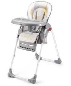 SHENMA 4 in 1 fold Baby Highchair, Portable Dining Chair Gray