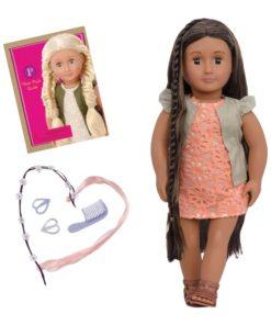 Our Generation- Hair Doll 46 cm - Flora BD31118Z