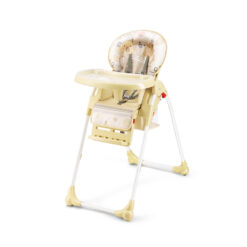 SHENMA 4 in 1 fold Baby Highchair, Portable Dining Chair Yellow