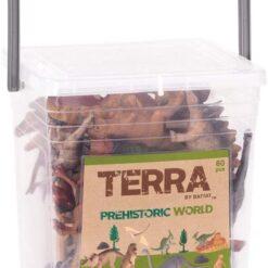 Terra by Battat – Prehistoric World – Assorted Miniature Dinosaur Toys for Kids 3+ (60 Pc)