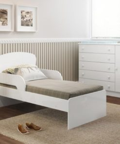 Toddler Bed Brazil Made 6070 White Color