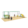 Funtastic Flyer Dual Chill Out Swing and Slide Playset Series 1 - Multicolour