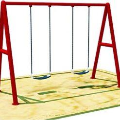 Toys Children Gardens Swing Set 2 seat