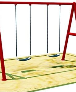 Toys Children Gardens Swing Set 2 seat