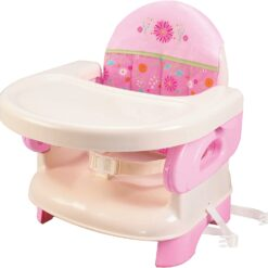 Summer Infant Deluxe Comfort Folding Booster Seat, Pink SI13060