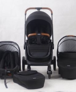 BURBAY baby stroller 3 in 1 with car seat carry cot
