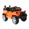 Remote Control Powered Riding Jeep For Kids Orange