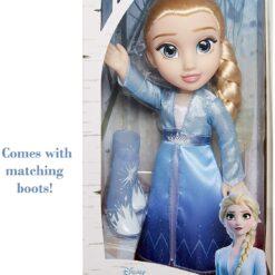 Frozen 2 Elsa Travel Dress Doll, Multi-Colour, 207054-ATL