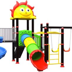 Wonderful Outdoor Playset Playground for Kids SIZE: 720X550X360CM 114MM PIPE