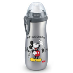 Nuk - Sports Cup Mickey Mouse - Grey 10255413