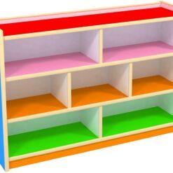 Nursery School Storage Furniture Kids Cabinet Children Wood