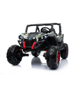 Rechargeable Battery Operated UTV Jeep LB 603 (EVA) ARMY