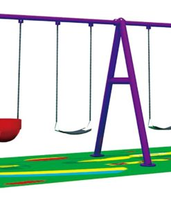 Toys Kids Outdoor Swing set 6 seats outdoor play