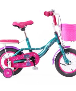Bicycle For Kids Pink Alexa Size-16 With Basket