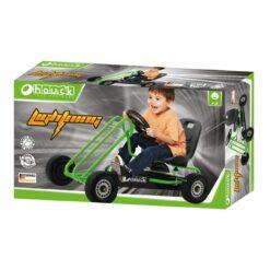 Hauck - Kids Lightning Go Cart - Green - 901056
