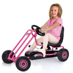 Hauck Lightning - Go Kart Pedal | Pedal Car | Ride On Toys for Boys and Girls