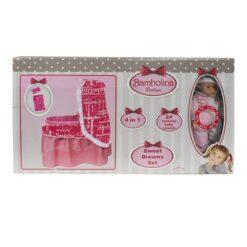 Bambolina Sweet Dreams Set 4 in 1 BD945