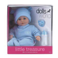 """Dollsworld Blue Little Treasure 38cm (15"""") Doll"""