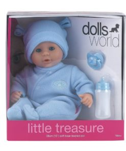 Dollsworld Blue Little Treasure 38cm (15