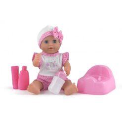 """Dollsworld Baby Dribbles 25cm (10"""") Doll Set"""