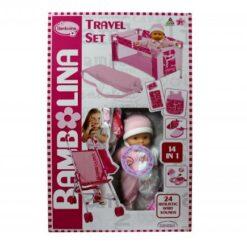 Bambolina 4 In 1 Travel Set BD9407