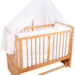 Mon Ami Wooden Baby Crib Swing TY-242