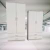 Monami white Cabinet Small Size
